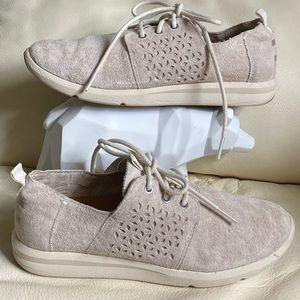 Toms Del Rey Suede Sneakers Women's 7